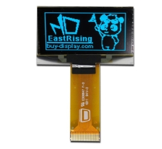Blue I2C 1.5 inch OLED Screen Serial 128x64 Display Module,SSD1309 ER-OLED015-2B